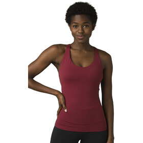 Prana Everyday Support Top Mujer, spiced wine